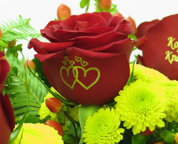Фото цветов с надписями