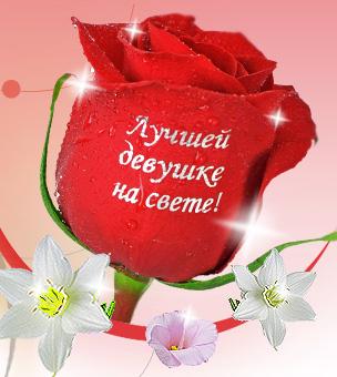 Цветы с надписями картинки